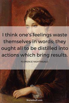 20 Greatest Florence Nightingale Quotes #Nursebuff #Nurse #Quote