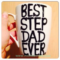 Best step dad or Step Mom ever mug-Greatest by PickMeCups on Etsy