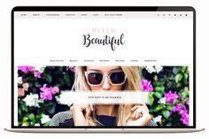 Beautiful Wordpress Theme Ecommerce by TinselPop on @creativemarket