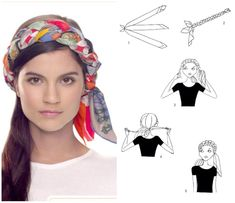 scarf knotting - Google Search