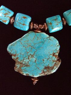 Turquoise Necklace Ishi Jewelry Beaded Jewelry by ishigallery - Stylehive