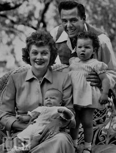lucy and desi and family