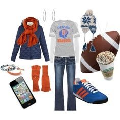 7f23843b27a Denver Broncos outfit for women Broncos Gear