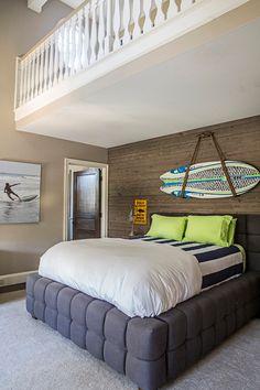 Reclaimed Wood Accent Wall | Tillman Long Interiors.