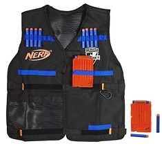Nerf N-Strike Elite Tactical Vest Kit ((Isaac♥. he has a million and one freakin' Nerf things. this would come in handy!