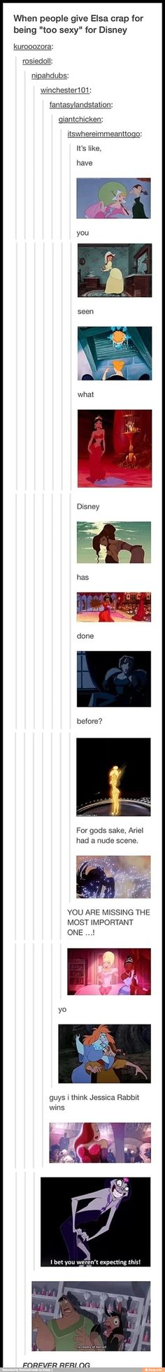 Lol oh Disney