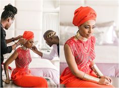 Traditional African Wedding of the Year – Sarah and Jehan's Real Life Wedding