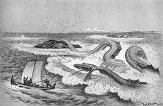 Theodor Kittelsen - The Serpent, 1897 by Aeron Alfrey, via Flickr