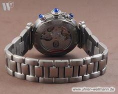 Cartier Pasha 2113 Herrenuhr Chronograph bei www.uhren-wellmann.de