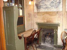 Interior, Jerusalem Tavern, London, via Flickr
