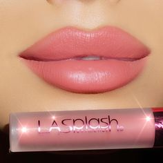 LA Splash liquid lipstick in Irresistible Lipstick Art, Lipstick Shades, Lipstick Colors, Lip Colors, Lipsticks, Makeup Art, Lip Makeup, Beauty Makeup, La Splash Liquid Lipstick