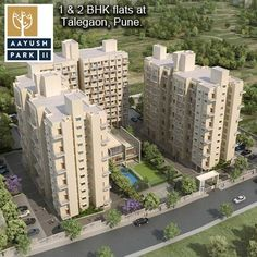 Aayush Park - II - 1 & 2 BHK flats by Earnest Group at Talegaon, Pune. To more know Visit: http://www.puneproperties.com/aayush-park-ii-apartments-talegaon.html #PuneProperties #FlatsinPune #ApartmentsinPune #FlatsinTalegaon #ApartmentsinTalegaon