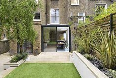 vCDesign likes this basement flat extension in Westborne Park, much like one we did but we could project as far back as the garden was shared with flat above