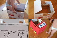 Manualidad: Fabrica un cochecito de cartón igual que Rayo McQueen