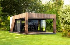 Garden room design - there are many wonderful options to consider whilst planning the look and functionality of your garden room project