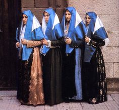 Overview of Sardinian Costume   Province of Carbonia-Iglesias