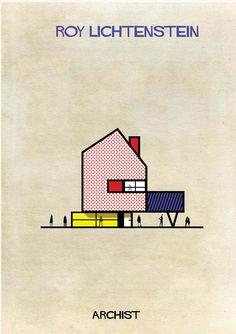 ARCHIST-Roy Lichtenstein