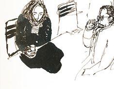 Brush Pen, New Work, Artworks, The Outsiders, Illustration Art, Behance, Photoshop, Ink, Fine Art