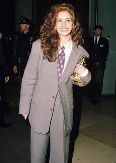 Julia Roberts at the 1991 Golden Globes
