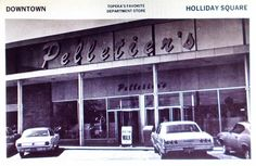 Holliday Square Department Store, Kansas, Neon Signs, Top, Shopping, Crop Shirt, Shirts