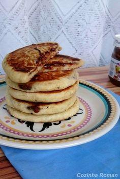 Hotteoks, ou panquecas recheadas (com nutella)