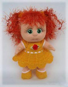 Кукляндия: Куклы вязаные спицами. Идеи для рукоделия