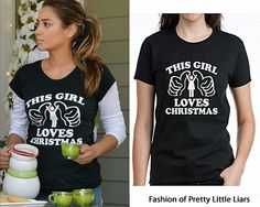 Cafe Press 'This Girl Loves Christmas Tee' - $24.50