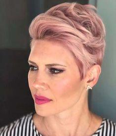 Short Haircuts Pink 2017 - 4