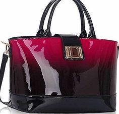 TrendStar Ladies Handbags Womens Large Bags Shoulder Patent Leather Designer style (Burgundy Shoulder Bag) No description (Barcode EAN = 5055929381551). http://www.comparestoreprices.co.uk/december-2016-week-1/trendstar-ladies-handbags-womens-large-bags-shoulder-patent-leather-designer-style-burgundy-shoulder-bag-.asp
