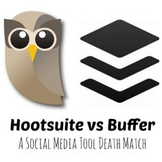 Buffer vs Hootsuite. What #socialmedia tool do you prefer? Here's a breakdown of their features!