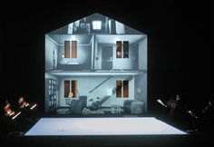 Bühnenbild und Licht: Klaus Grünberg, eraritjaritjaka (André Wilms), Théâtre de Vidy, Lausanne, 2004