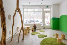Baukind have designed a kindergarten/day care for Kita Drachenreiter in Berlin, Germany.