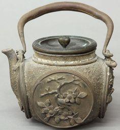 Japanese Cast Metal Teapot - cool!