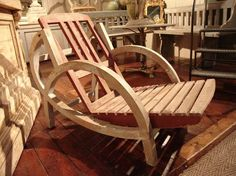 French Vintage Garden Chair. Swoon.
