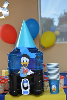 Donald Duck party I did