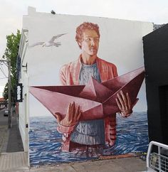 """""""The Paper Trail"""" by Fintan Magee in Melbourne, 11/15 (LP)"""