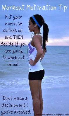 I do this all the time.  Once I have my workout clothes on it just seems stupid to take them off before they're sweaty.  It's a mind game.  :)