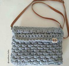 Monogram, Michael Kors, Shoulder Bag, Instagram, Pattern, Crocheted Purses, Basket Weave Crochet, Crossbody Bag, Crochet Pouch