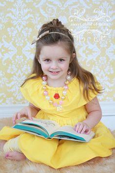 Belle Dress Beauty and the Beast  Disney by ChameleonGirls on Etsy