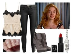 Paige Matthews/Halliwell by fashion-nova on Polyvore featuring мода, Dolce&Gabbana, Miss Sixty, NARS Cosmetics, Burberry and OPI