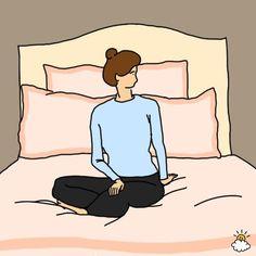 Easy bedtime yoga poses