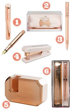 Ted Baker Rose Gold Stationary and free printables Beautiful Ted Baker Rose gold stationary and free printables from Makes, Bakes and Decor. One to do list printable and one monthly calendar printable.