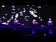 Kraftwerk: Boing Boom Tschak/Techno Pop live at Tate Modern, 09/02/2013.