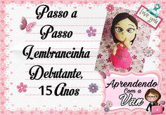 (DIY) PASSO A PASSO LEMBRANCINHA 15 ANOS - DEBUTANTE