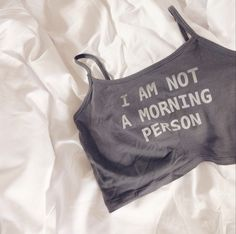 Morning Person Crop Top from storenvy $9