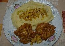 Řízky naruby z vepřové kýty Food 52, Lamb, Grains, Rice, Meat, Chicken, Ethnic Recipes, Fitness, Author
