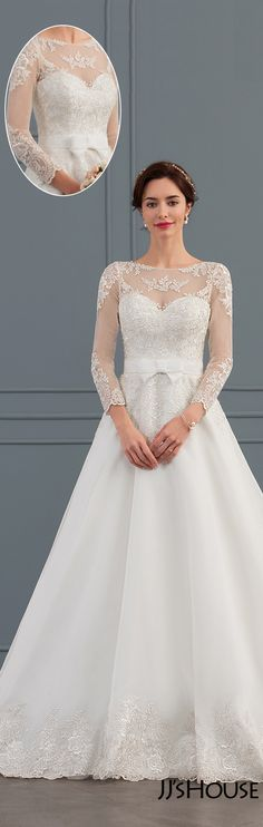 Perfect ball-gown wedding dress!#JJsHouse#Wedding