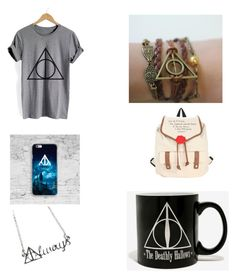 """Harry Potter"" by delianita on Polyvore featuring beauty, WithChic and Warner Bros."