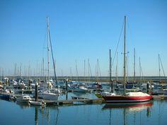 The marina of Olhão