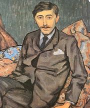 Portrait of E.M. Forster by Roger Fry